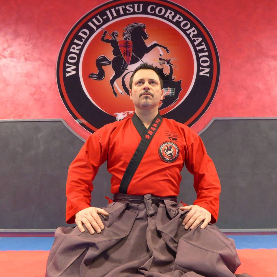 Soke Adriano Busà Founder of the World Ju-Jitsu Corporation in seizan